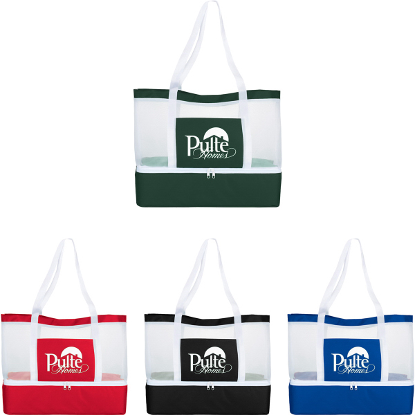 The Mesh Outdoor Cooler Tote