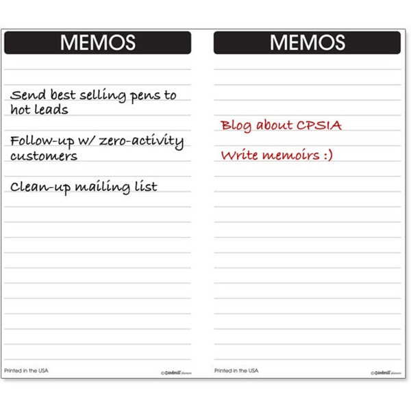 Junior Tally Book Inserts/Refills