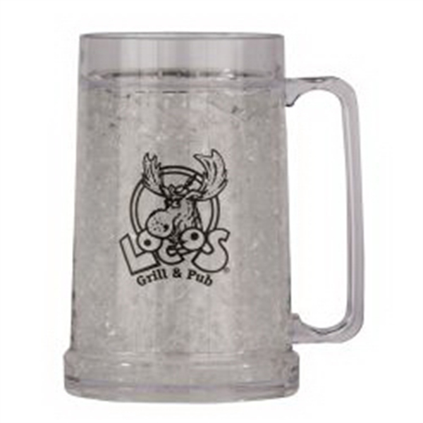 16 Oz Double Wall Gel Mug