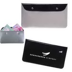 Vinyl Travel Document Pouch