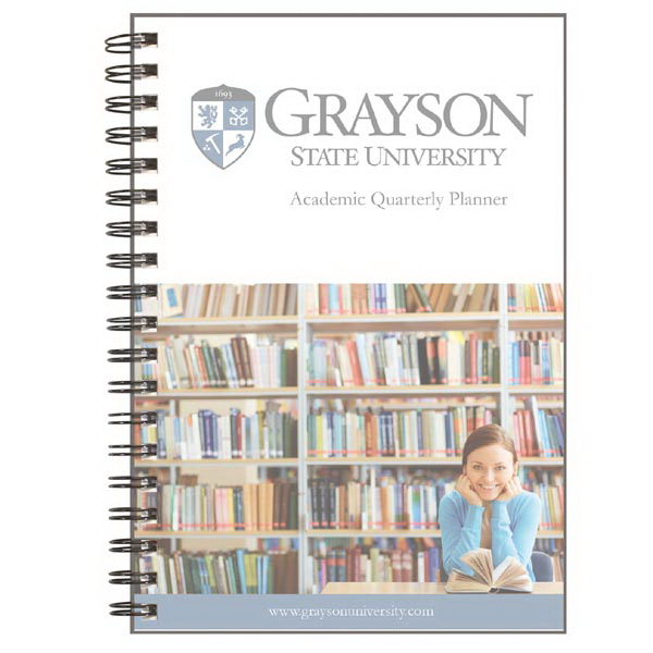 NEW! 2017 TabbedQuarterly - PageSaver Academic Notebook/P