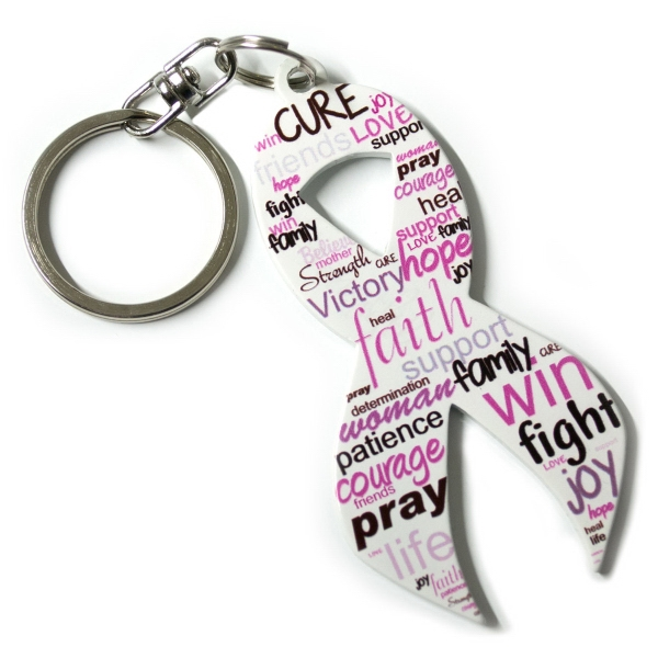 Full Color Ribbon Key Chain