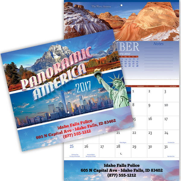 Panoramic American Appointment Calendar