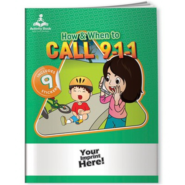 Activity Book with Fun Stickers (TM) - 9-1-1