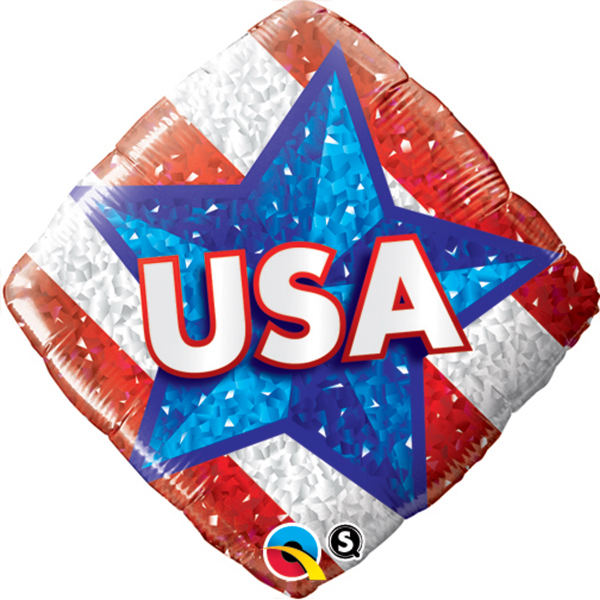 USA Diamond Stock Foil Balloon