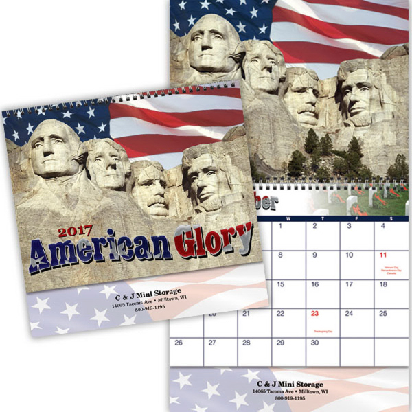American Glory Appointment Calendar