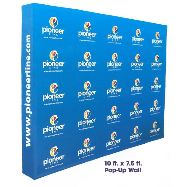 7.5ft. Wide Pop Up Wall Kit