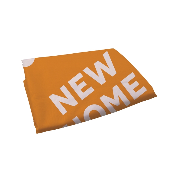 9ft Streamline Razor Sail Sign One-Sided Replacement Graphic