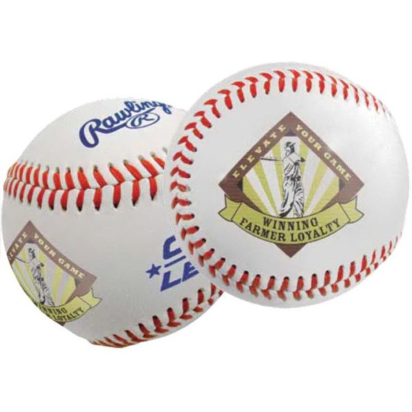 Full Color Direct Rawlings (R) Official Baseball