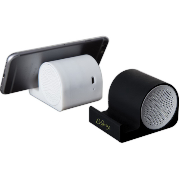 silicone bluetooth speaker and phone stand usimprints. Black Bedroom Furniture Sets. Home Design Ideas