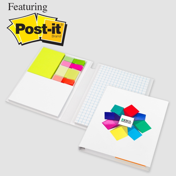 Essential Journal featuring Post it Notes and Flags: Opt 2