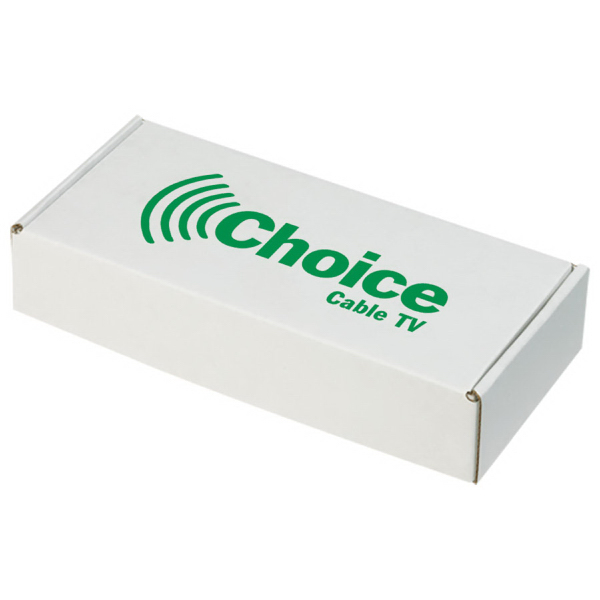 Custom E-Flute Mailer Box - Retail Packaging