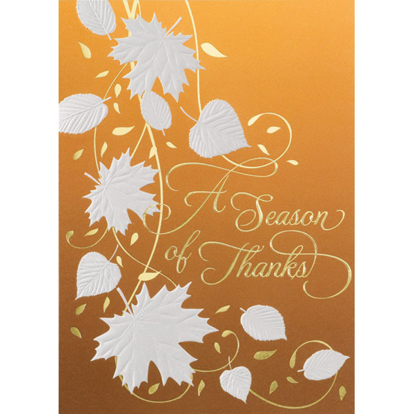 A Season of Thanks Greeting Card