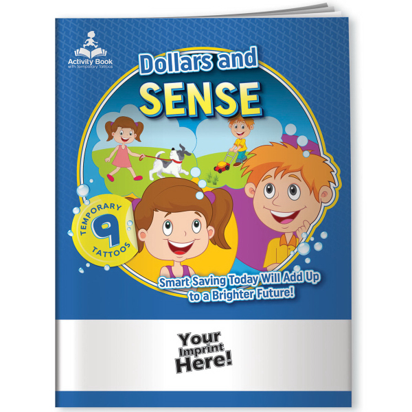 Activity Book w/ Temporary Tattoos (TM) - Dollars and Sense