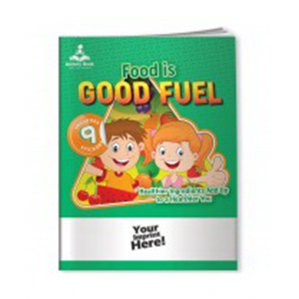 Activity Book with Fun Stickers (TM) - Eat Healthy