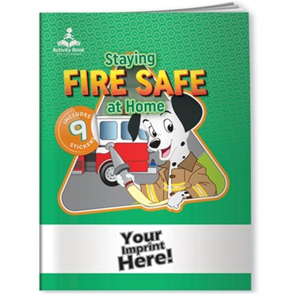 Activity Book with Fun Stickers (TM) - Fire