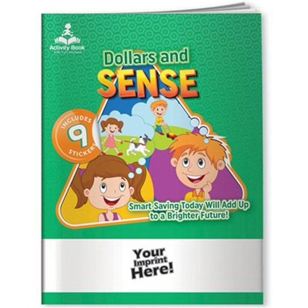 Activity Book with Fun Stickers (TM)