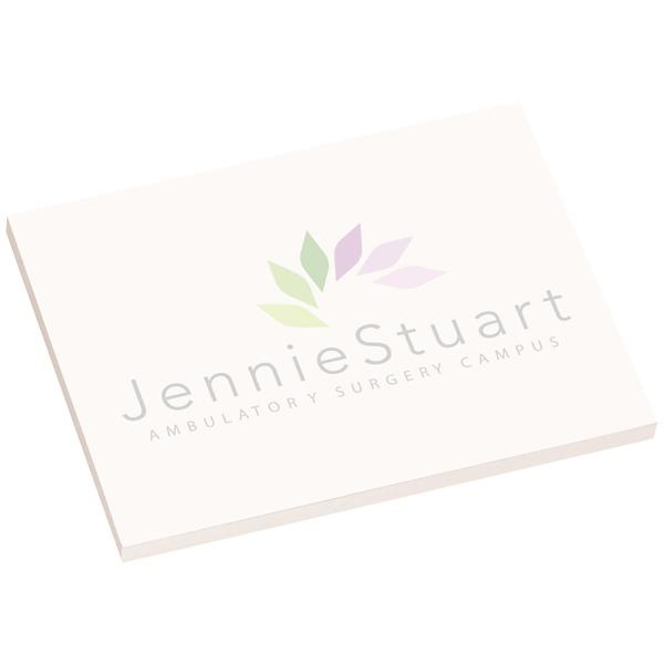 """4"""" x 3"""" Earth Friendly Adhesive Notes 100 sheet count"""