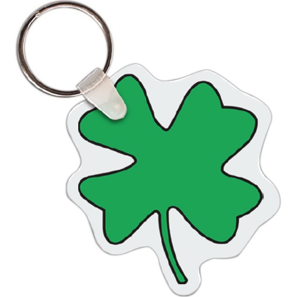 Four Leaf Clover Key Tags