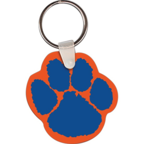 Paw Key Tags
