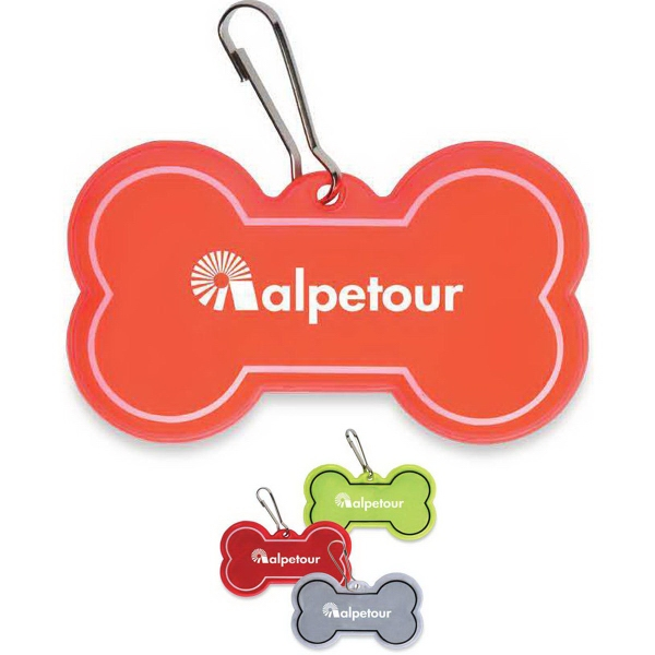 Dog Collar Reflective Tag