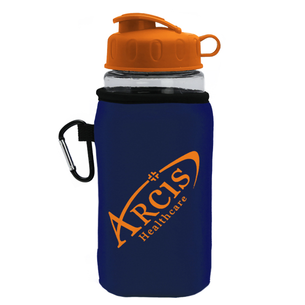 20 oz. Sports Bottle & Caddy