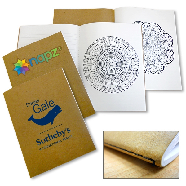 USA Made Notebook with Mandala Designs