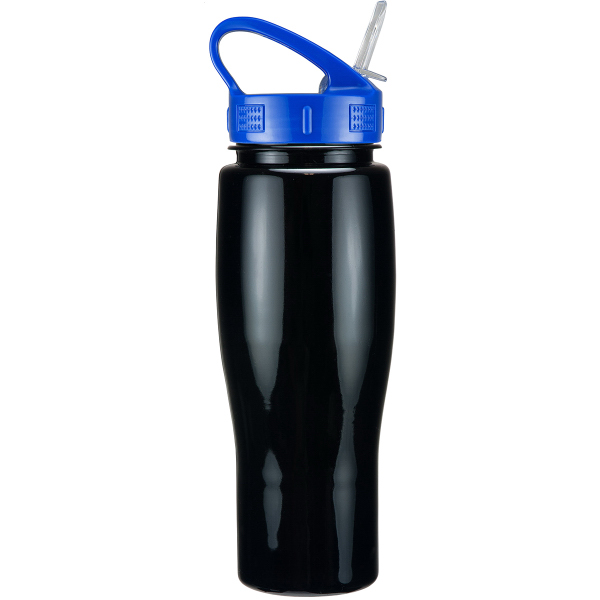 24 oz. Solid Contour Bottle w/ Sport Sip Lid