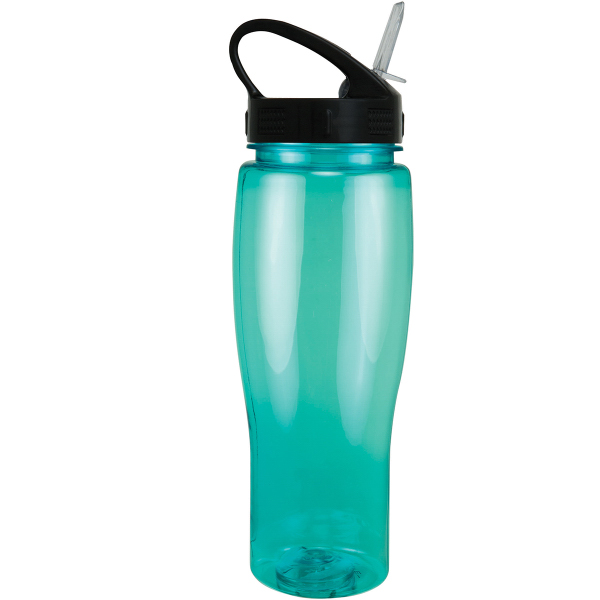 24 oz. Translucent Contour Bottle w/ Sport Sip Lid
