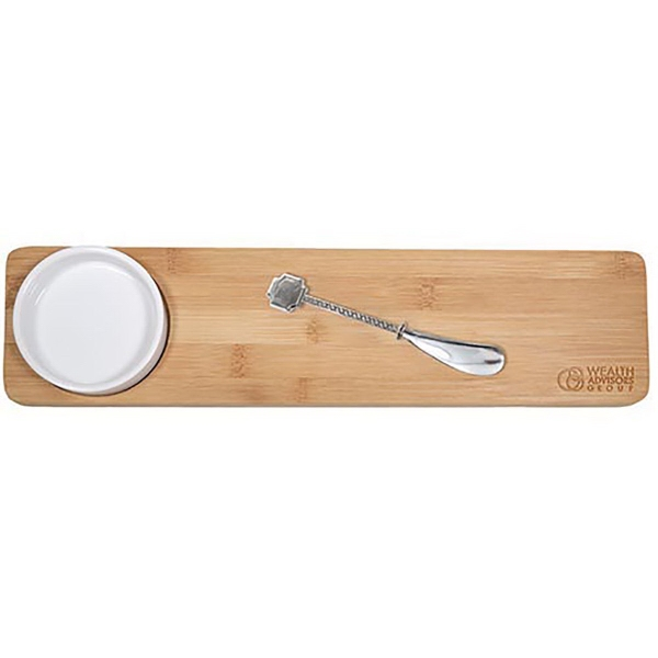 3 Piece Bamboo Appetizer Set