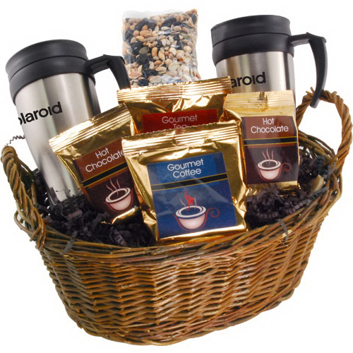 Premium Mug Gift Basket with Trail Mix