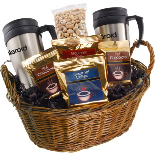 Premium Mug Gift Basket with Cashews