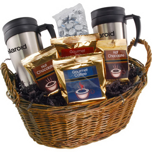 Premium Mug Gift Basket with Hershey Kisses