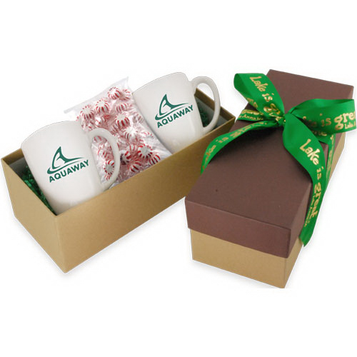 Gift Box with Mugs and Starlight Mints