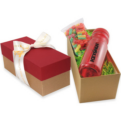 Gift Box with Bottle and Sour Patch Kids