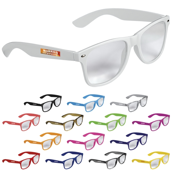 Cool Vibes Clear Lenses Glasses