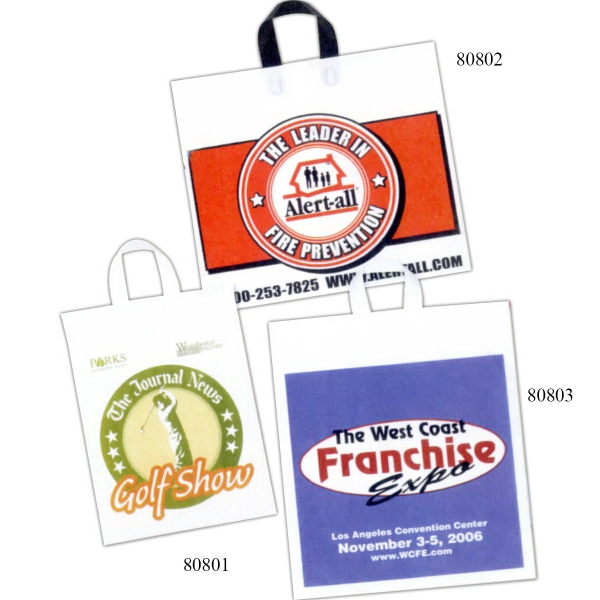 Custom Printed Soft Loop Handle Bags