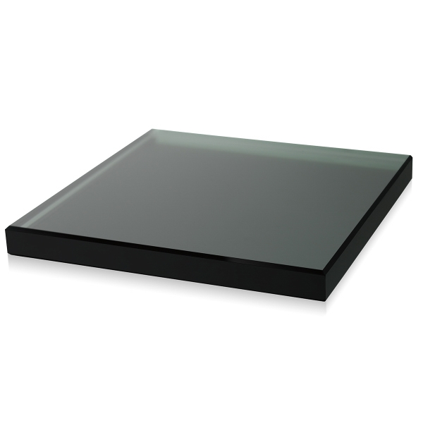Slim Square Black Base
