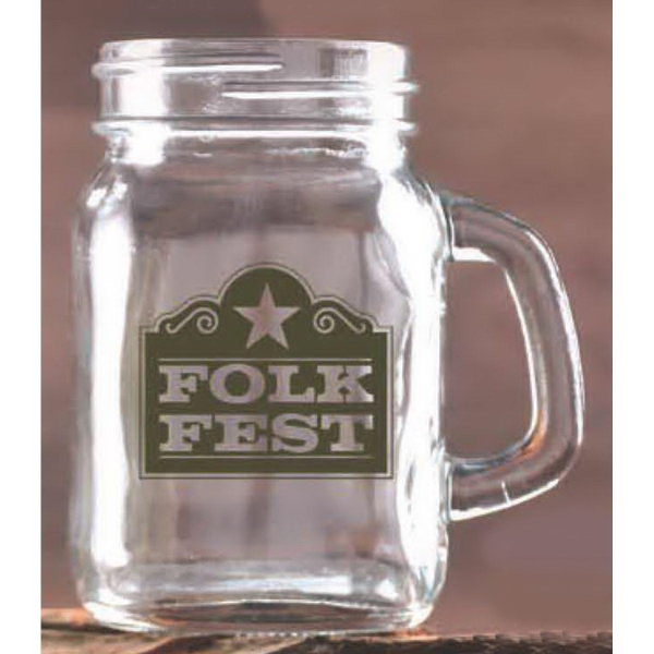Handled Jar Shot Glass