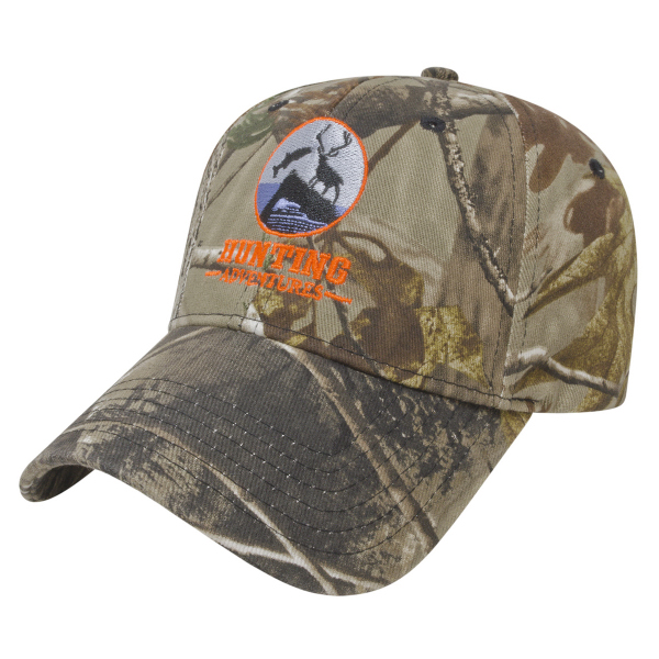 Stretch-Fit Camo Cap