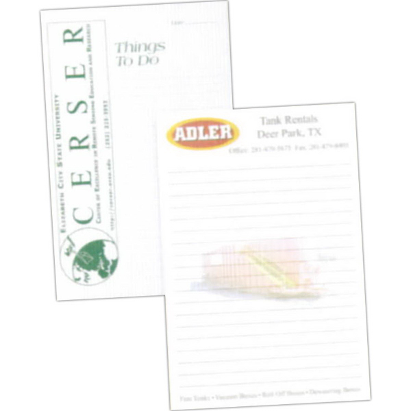 Custom Printed 50-Sheet Notepad