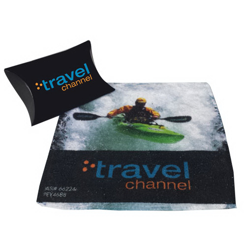 Microfiber Towel in a pillow pack