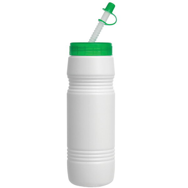 26 oz. Recycled Bottle w/ Straw Tip Lid