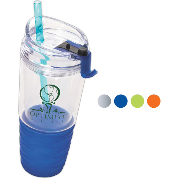 Quench (TM) Acrylic Tumbler with Straw