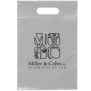 9 1/2W x 14H Die Cut Handle Bag