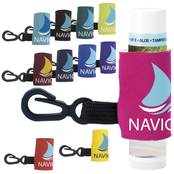 SPF-15 Lip Balm with Leash