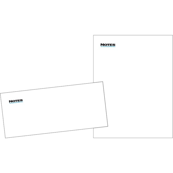White 70# Smooth Opaque Stationery Letterhead 8.5 x 11