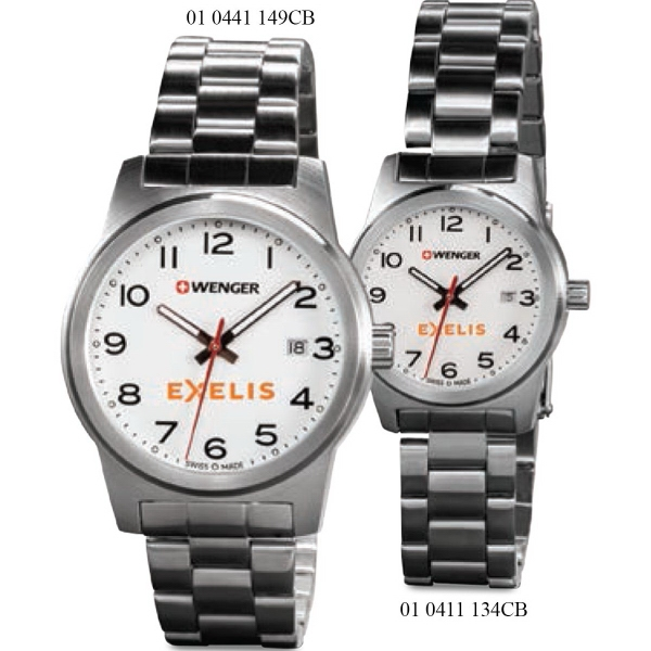Field Color - Stainless Steel Bracelet Watch
