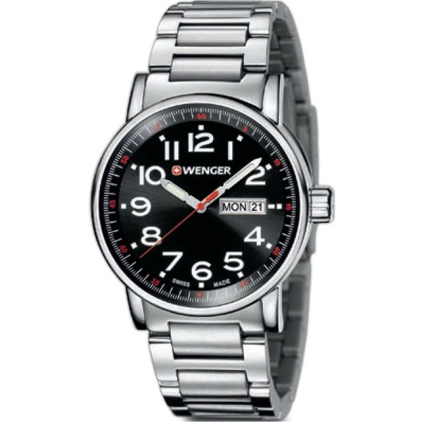 Attitude Watch with Stainless Steel Bracelet
