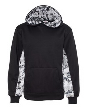 Badger Youth Colorblocked Digital Camo Sweatshirt